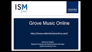 ISM Webinar: Discover Grove Online