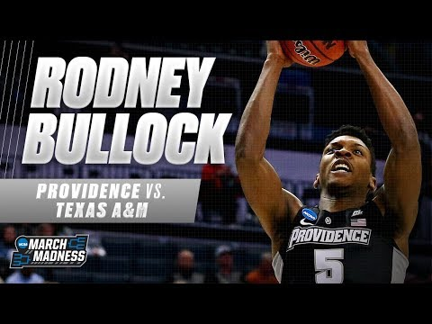 Providence's Rodney Bullock puts up a game-high 22 points in the First Round