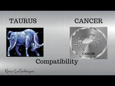 cancer man taurus woman dating