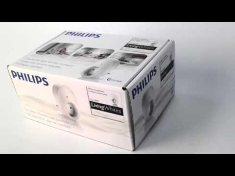 philips living whites leuchten steckdosenadapter wei. Black Bedroom Furniture Sets. Home Design Ideas