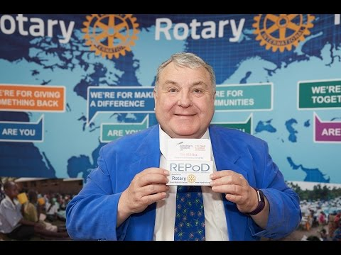 Russell Grant on raising awareness of Dementia at Rotary Conference 2017