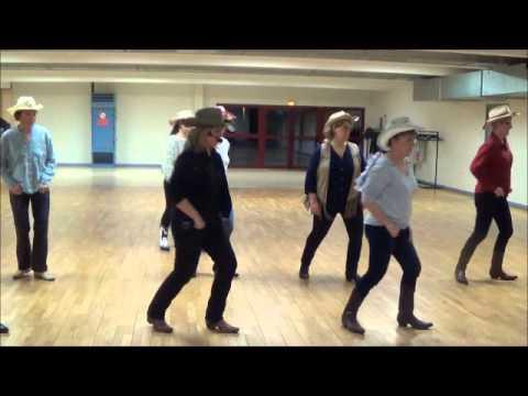 ONE WOMAN MAN line danse country démo + explications