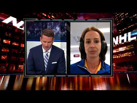 NHL Tonight:  Tracey Meyers:  Expect Corey Crawford to be ready to start the season  Jul 18,  2018