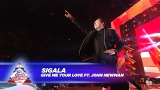 Скачать Sigala Give Me Your Love FT J Newman Live At Capital S Jingle Bell Ball 2017