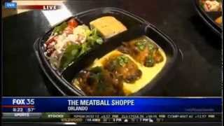 Fox35 Comes To The Meatball Shoppe! Pt. 1