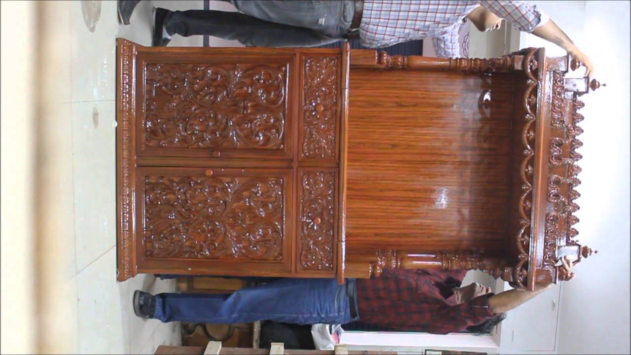 Wooden Temple Wooden Mandir Manufacturer Exporter Supplier From