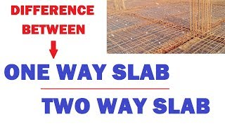 Difference Between One Way Slab and Two Way Slab | Learning Technology