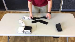 Folding Socks & Underwear - Liberty Laundry