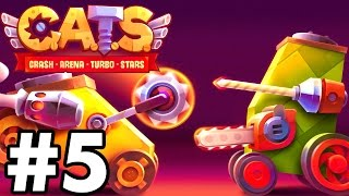 THIS WILL NEVER WORK...  | C.A.T.S | Crash Arena Turbo Stars Gameplay Part 5