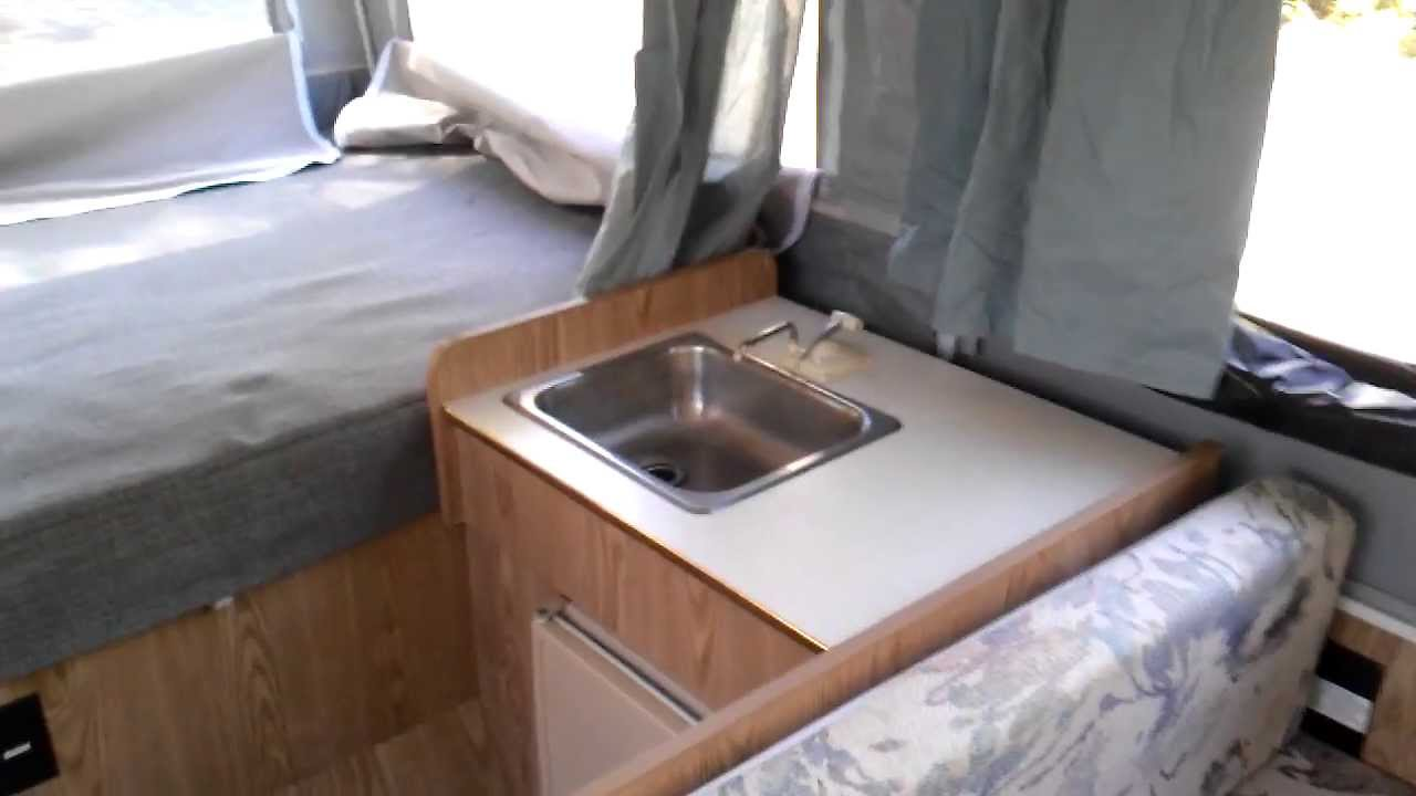 Examining my 98 Dutchmen 801 Pop up camper - YouTube