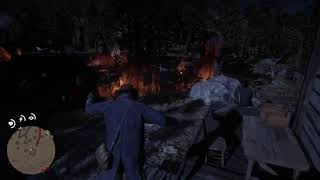 Giving a Peace offering to Indians in Red Dead Redemption 2