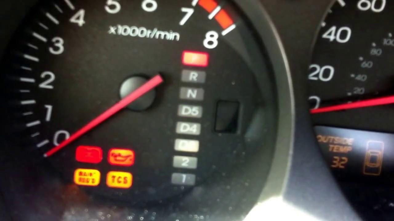 2000 Acura TL 3.2 - Starter failure. - YouTube