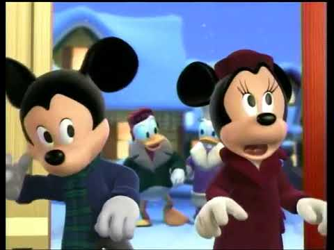 Mickey S Twice Upon A Christmas Disney Channel Promo 2004 Youtube