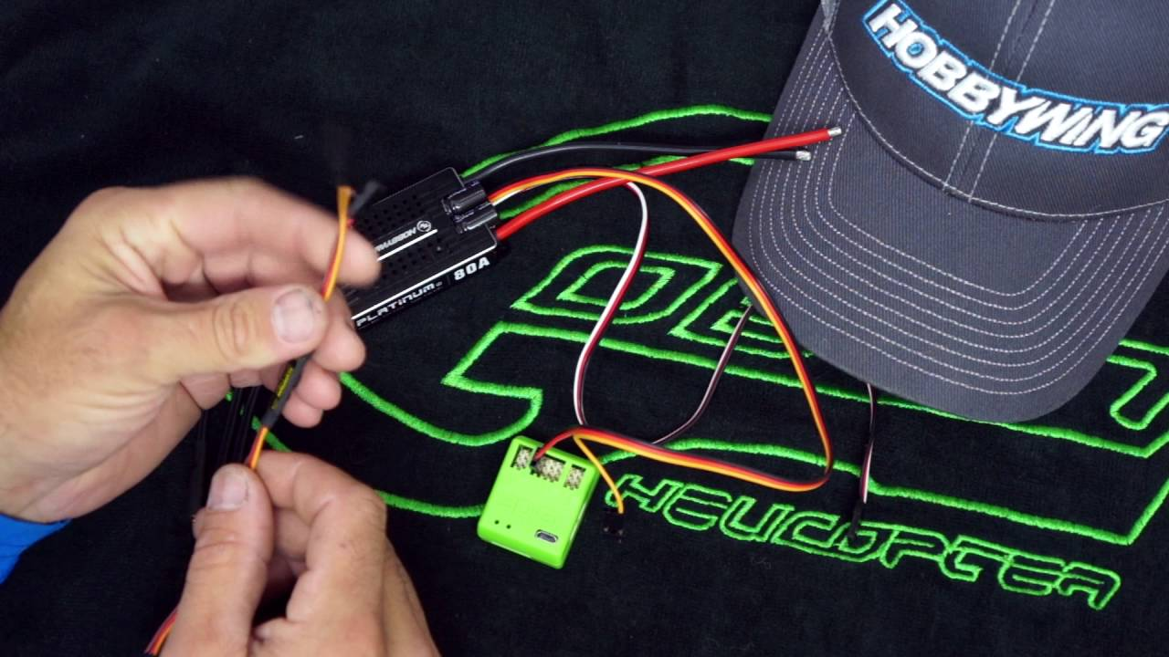 HobbyWing RPM output and OptoCable