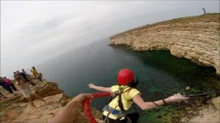 Надежда Маркина  Прыжки с веревкой с командой Jump & Fly м Фиолент  с 1 по 9 мая 2017г
