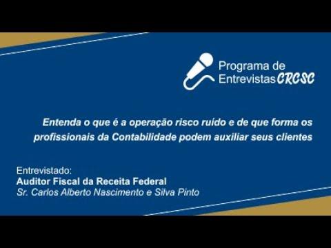 Programa de Entrevistas CRCSC - Operação Risco Ruído