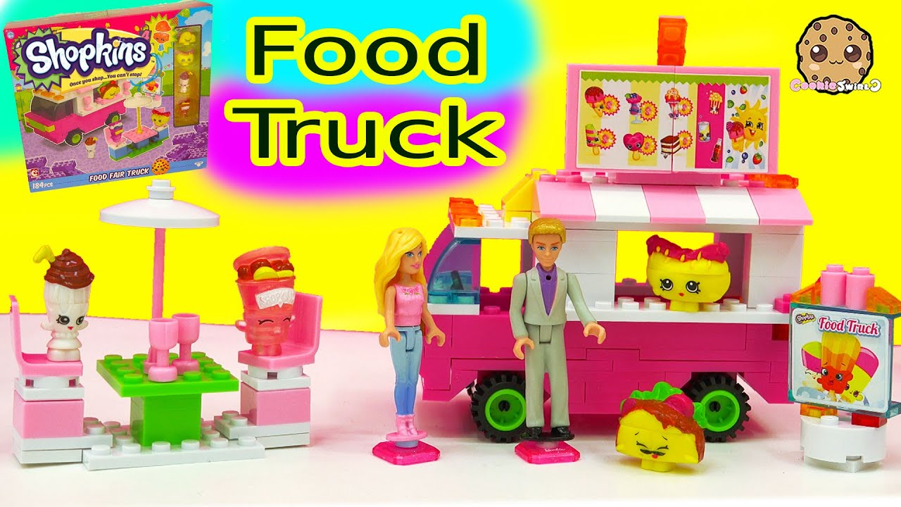 Barbie Food Truck Instructions
