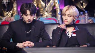 [Taekook] How Jungkook Treats Tae Vs Others