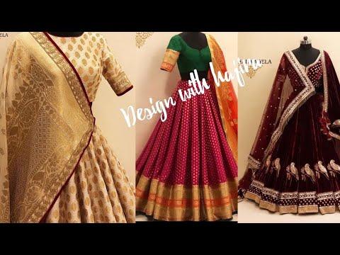Stylish mehndi dress for girls || pakistani and indian fashion || lehnga choli designs for wedding