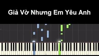 Giả vờ nhưng em yêu anh - Miu Lê | Piano Tutorial #52 | Bội Ngọc Piano