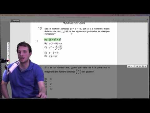 Clase 16 PSU Matemática 2015: Revisión modelo PSU DEMRE 2016 II
