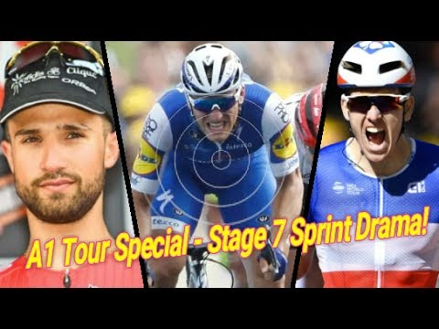 Sprint Drama & Kittel Wins Stage 7 |Tour De France Special