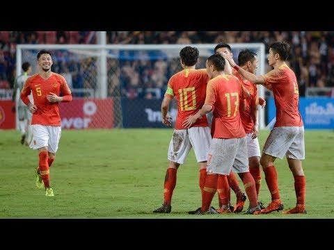 China bests Thailand in international friendly
