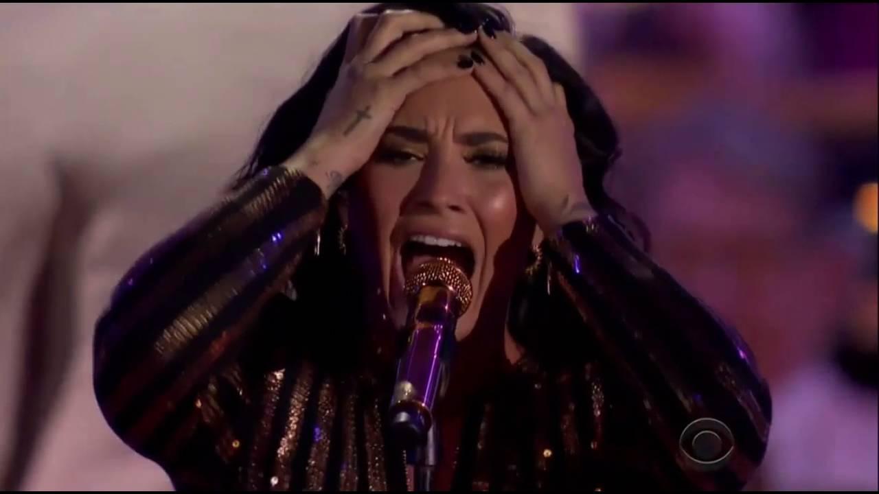 Demi Lovato Purple Rain Prince Cover Warning Vocal Fire Danger Youtube