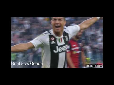 Download Cristiano ronaldo all game 14 goal & assist in Juventus 2018/2019