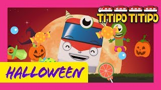 Train Song l Halloween Trains (60 mins) l Nursery Rhymes l TITIPO TITIPO