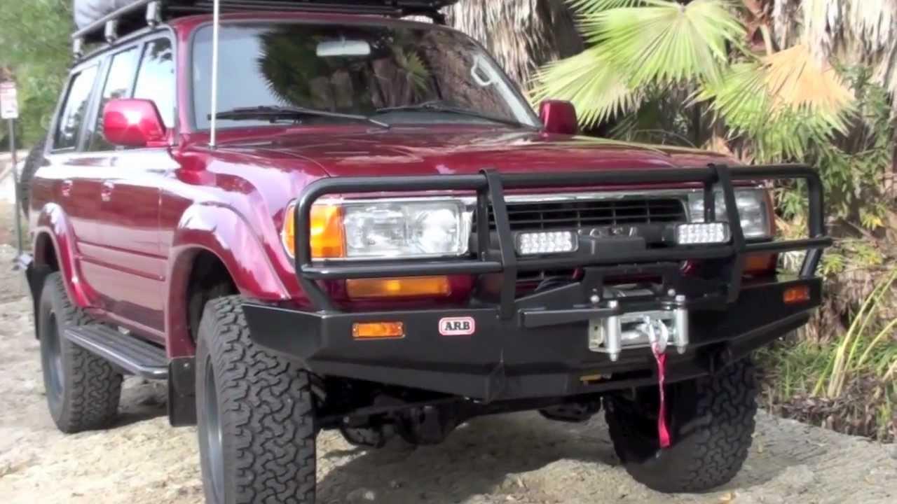Custom 80 Series Toyota Land Cruiser By TLC YouTube