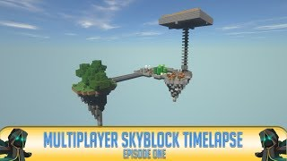 ✔ Minecraft: Skyblock Timelapse | Episode 1