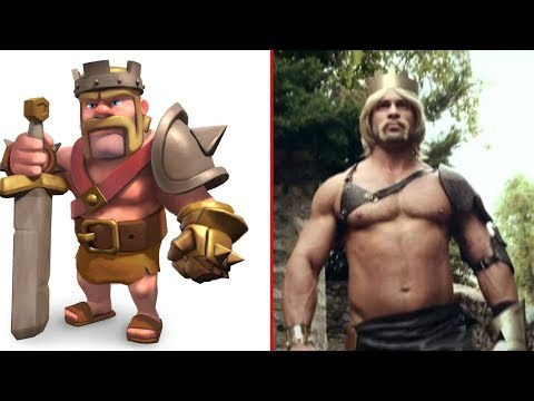 Clash of Clans Characters In Real Life | Poppy Kids TV