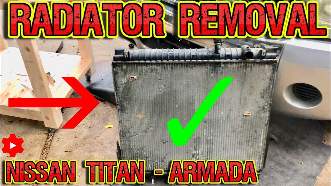 Brand New Premium Radiator for 2004-2015 Nissan Armada 2004-2015 Titan 5.6 QX56