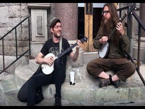 Missoula Street Music: A little bluegrass
