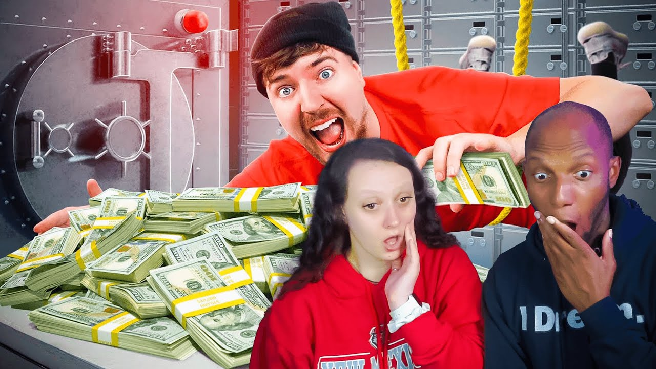 Download First To Rob Bank Wins $100,000 - Mr. Beast (Reaction)