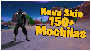 SHOWING A * NEW * SKIN SCIMITARRA & 150 + BACKPACKS | FORTNITE