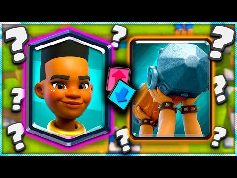 *KEEP HER* or *GIVE HER*?! Ram Rider Legendary - Clash Royale Update