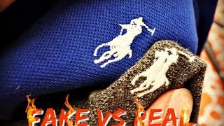HOW TO SPOT A FAKE RALPH LAUREN POLO TOP   Fake Vs Real