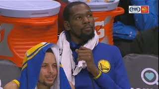 Kevin Durant Gets 'Draymond Green Hates You' Chants From Hawks Crowd! Warriors vs Hawks thumbnail