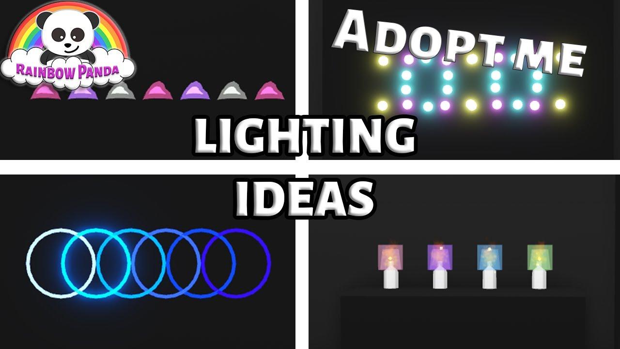 Adopt Me Lighting Hacks 💡 - Building Hacks