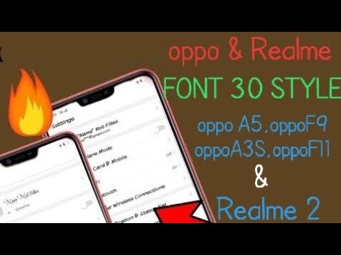 Download Font Change Oppo A5 F9 A3s Oppo Font Change MP3
