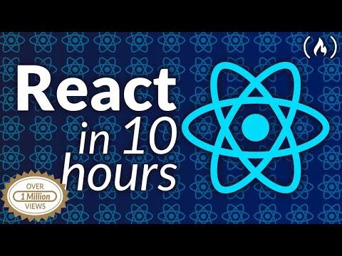 Full React Course 2020 - Learn Fundamentals, Hooks, Context API, React Router, Custom Hooks