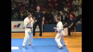 【新極真会】THE 9th WORLD KARATE CHAMPIONSHIP 4th round7 Nesterenko vs. Leonov SHINKYOKUSHINKAI KARATE