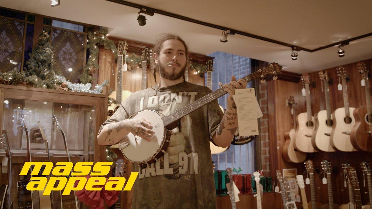 Shop Talk: Post Malone   Mass Appeal - YouTube