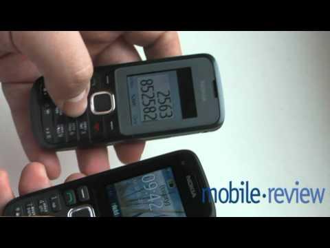 Nokia C1-01/C1-02 Обзор Demo