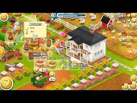 Hay Day Level 87 Update 2 HD 1080p