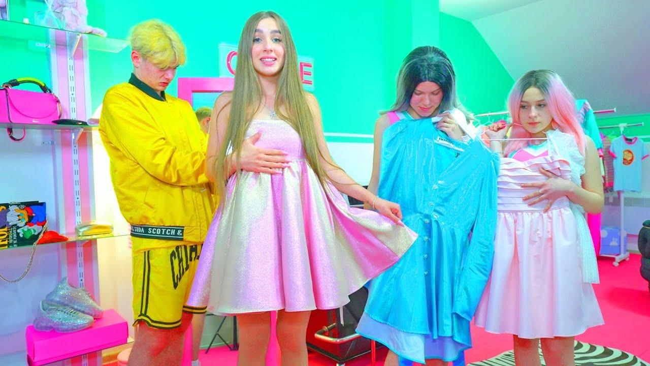 Download ¡Diana compró un vestido de ensueño para el baile de graduación!