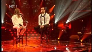 Renata Sabljak i Miran Kurspahić - More than words (Zvijezde pjevaju, 2014.)