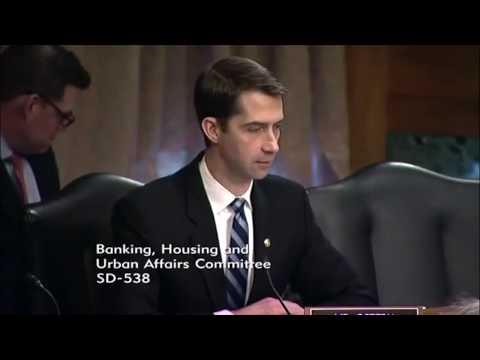 BTC Value - Mr. Cotton - Feb 6th - Senate on Banking (bitcoin, investing & crypto assets)